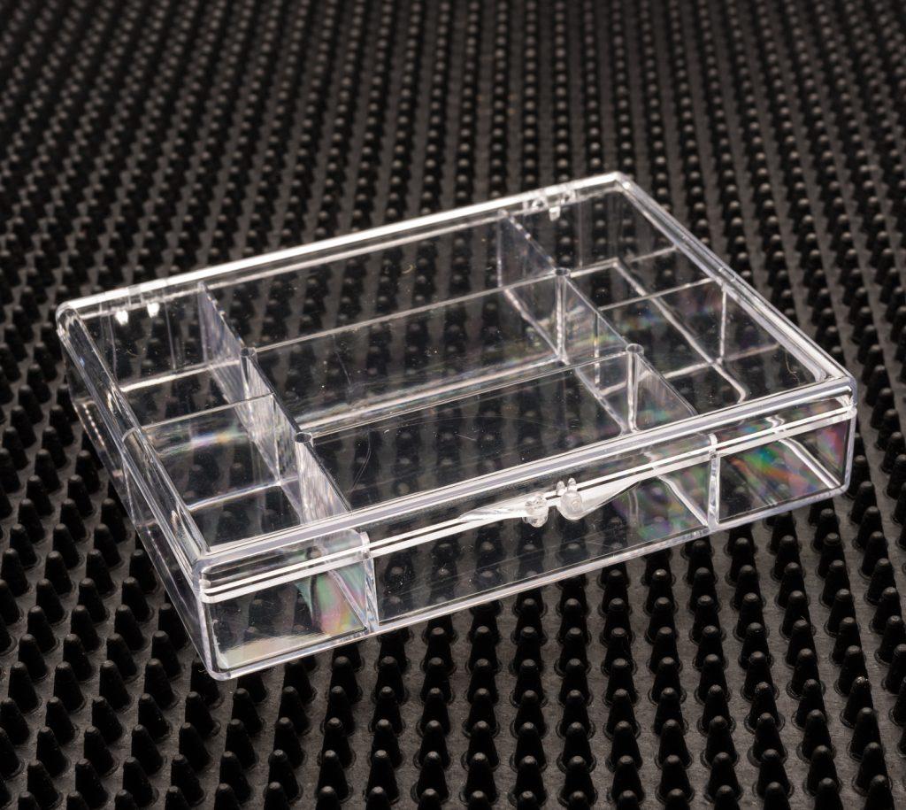 7 Compartment Clear Plastic Boxes - 746C-7