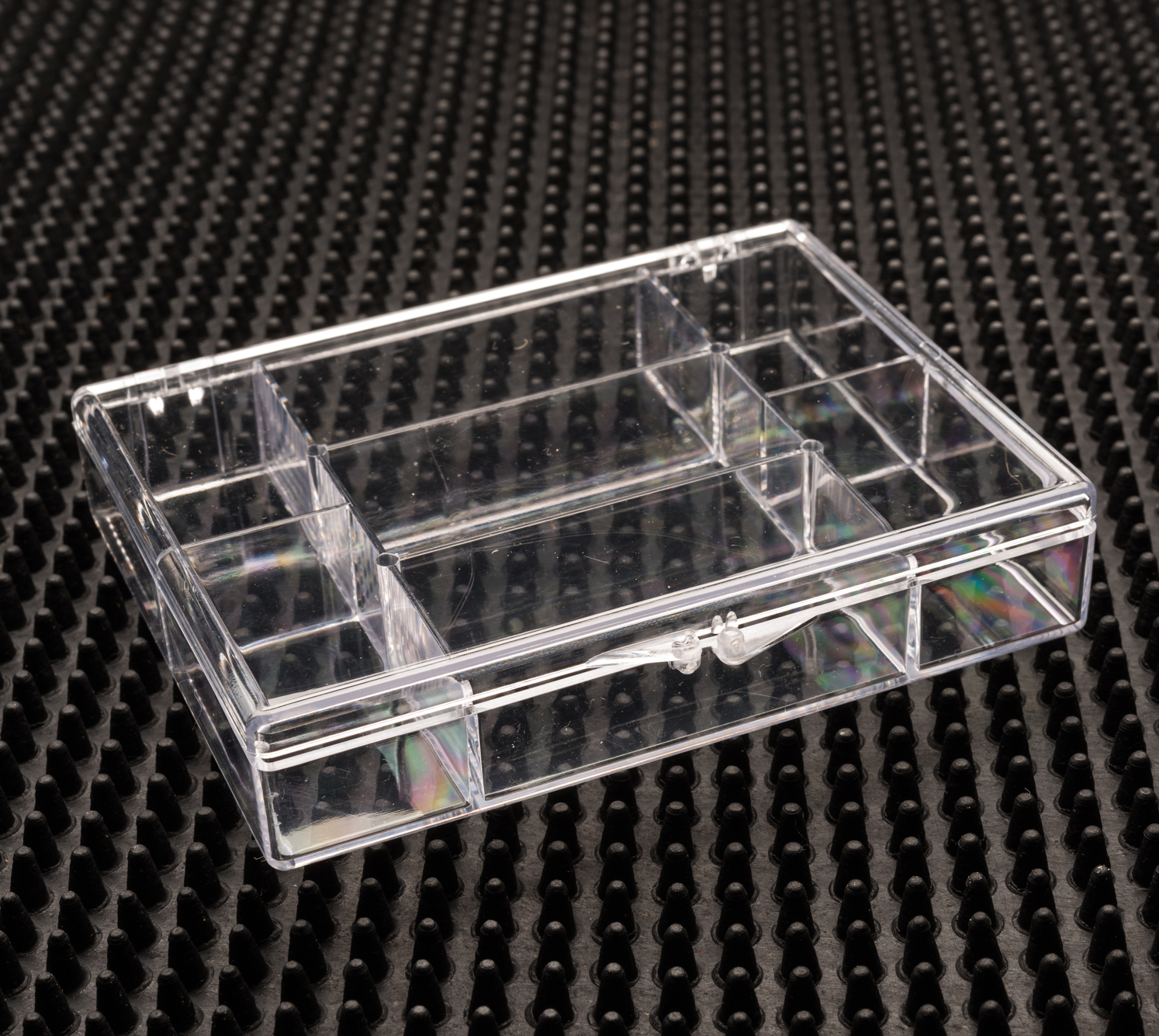 7 Compartment Clear Plastic Boxes - 746C-7