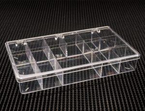 13 Compartment Clear Plastic Boxes (786C-13)