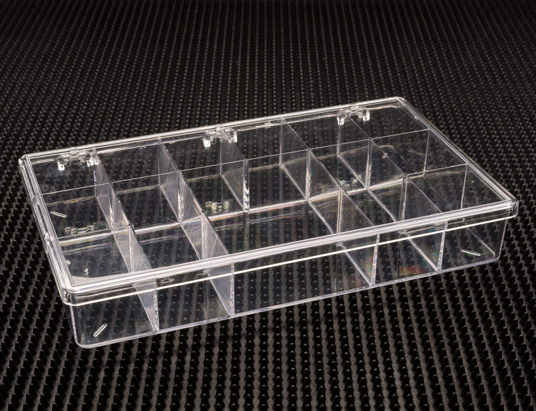 13 Compartment Clear Plastic Boxes (786C-13)