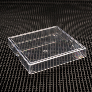 Friction fit plastic craft box and lid item no 24 for Plastic craft boxes with lids