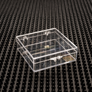 square clear plastic hinged boxes u2013 47 series