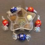 Plastic Rigid Star Shaped Box – July 4 – Alpha Rho