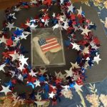 fourth of july cookie – rigid plastic boxes – Alpha Rho